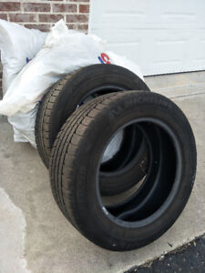 255/55 R18  Michelin winter tires