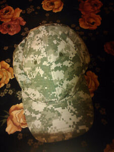 real camo hat