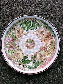Wedgwood Calendar Plate 2002.