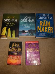 John Grisham mystery novels Hectorville Campbelltown Area Preview