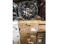 "4 18"" alloy wheels Alloys Rims tyres 5x120 BMW 1 2 3 series z3 Z4 vauxhall insignia"