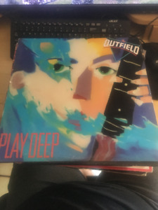 THE OUTFIELD Play Deep Vinyl LP - 1985