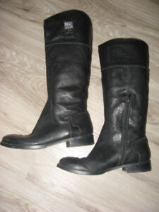 Nine West TIERNEY Leather Knee Boots   Size 8