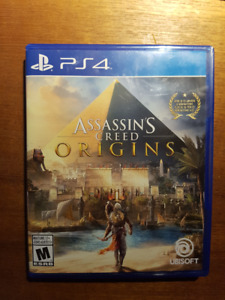 Assassin's creed Origin PS4