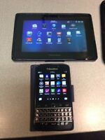 Blackberry Classic + Playbook