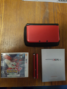 3DS XL Console with Ac adapter and 1 Game $100