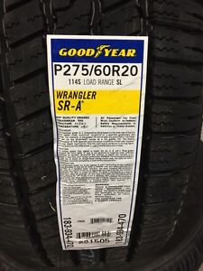 GOODYEAR SR-A ALL-SEASON HIGHWAY TIRE 275-60-20