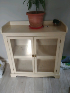 Hand crafted cabinet