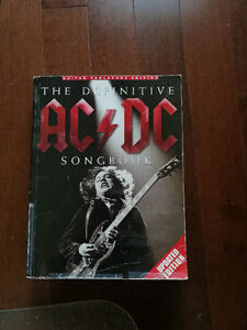 ACDC SONGBOOK Over 800 pages of Guitar Sheet Music