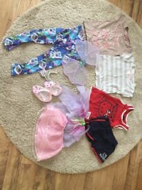 Girls age 4-5 Clothes inc Fancy Dress, Hello Kitty pre owned