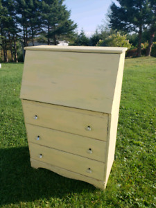YELLOW RUSTIC CABINET