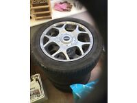 BMW Mini 16' Alloy Wheels and Tyres