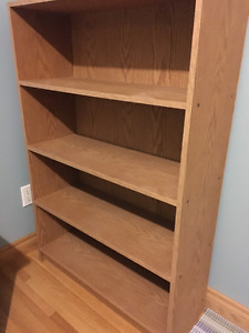 Bookshelf - firm on price, no holds, first come, first served