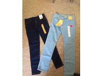 Women's leggings and jeans size 8, bnwt