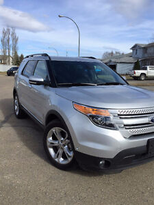 2014 Ford Explorer Limited Edition SUV, Crossover