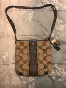 Brown Coach Crossbody purse