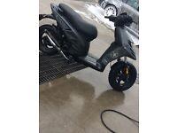 Piaggio typhoon moped 50cc fast