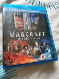 Warcraft The Beginning Blu-Ray DVD Movie