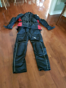 Motorcycle Insulated and Armoured Suit