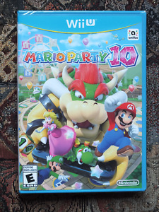 Mario Party 10 Sealed Game only