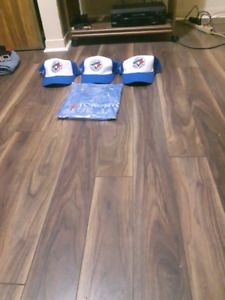 3 jays hats brand new... 1 shirt new sill i package...$5 eash