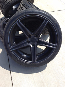 "20"" Rims with tires"
