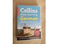 Collins Easy Learning German 3cd pack