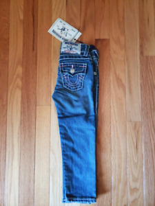 Authentic True Religion Toddler Girl Jean - Size 4