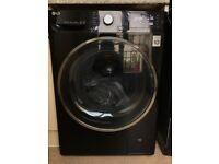 LG washing machine with warranty and receipt