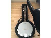 5 string Hudson banjo