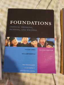 SOSC 1000 Textbook: Foundations Critical Thinking Victor Shea