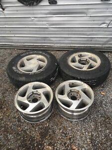 """4 X 15"""" Ford Aluminum Rims"""