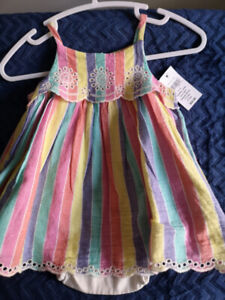 Baby girl dresses & shoes NWT