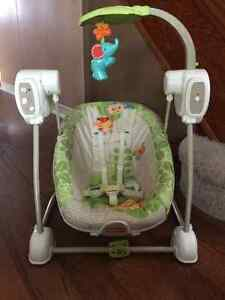 Fisher Price Baby Swing Just Like New