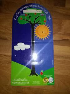 Easy Daysies Magnetic Schedule - Brand new, never used