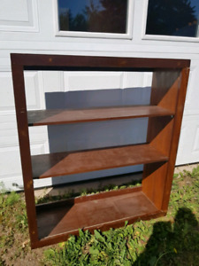 Solid Wood Bookcase PRICED TO GO