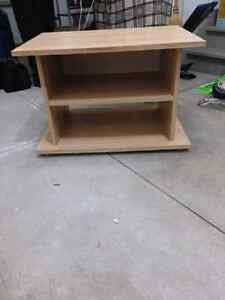 Ikea wood tv stand $20 London Ontario image 1