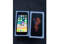 Iphone 6s 64gb space grey unlocked to all networks boxed up fully working