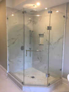 10mm Tempered Glass Shower Door & Stair & Mirrors