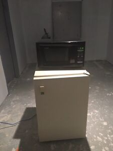 Mini fridge/freezer and microwave $100 for both