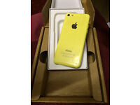 New replacement iPhone 5c yellow