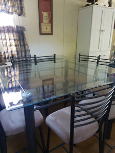 8 Person Table & Chair Set