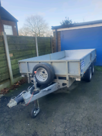 Ifor Williams trailer LM125 not box plant indespension bateson farming
