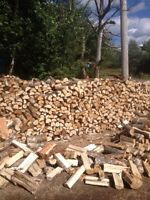 Dry firewood 250$ a cord Delivred