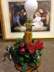 Vintage Christmas Lamp light - works $25