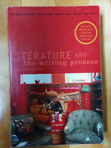 Literature and the Writing Process by McMahan, Day, Funk, Ashley
