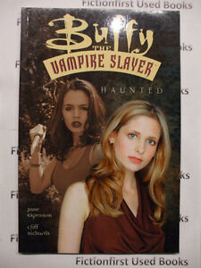 "Graphic Novel: ""Buffy, The Vampire Slayer: Haunted"""