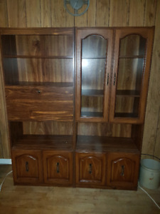 China Cabinet (and/or) matching Hutch Display Cabinet