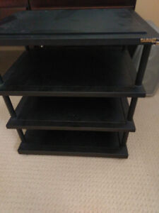 4-shelf Target Audio Stand TT4 FULLY WELDED, GOOD Condition