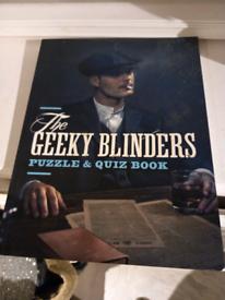 Geeky Blinders Quiz Book New